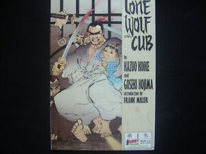 first comic ( card cover ): lone wolf and cub # 1.....frank miller......1987