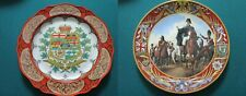 Antique Plates Canada Dominion Wedgwood Royal Doulton Wellington Waterloo Pick1