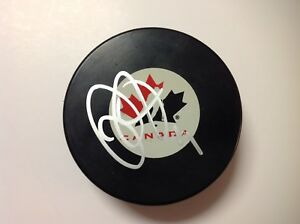 Mike Smith Signed Autographed Team Canada Hockey Puck a