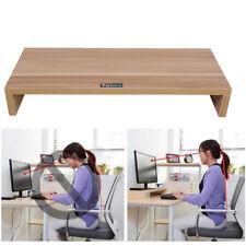 Monitorständer Bildschirmerhöher Tischablage Monitorerhöhung Holzfarbe Life DHL