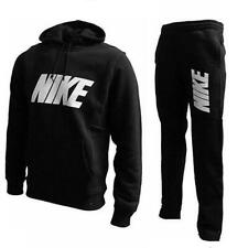 Nike Mens Full Tracksuit Pullover Hoodie Cuffed Fleece Jogging Bottoms Joggers