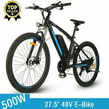 500W Electric Bike 27.5'' Mountain Bike Bicycle, 48V 10.4Ah Removable c 29