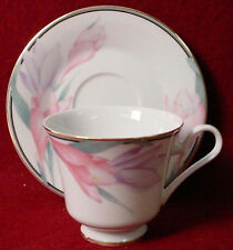 MIKASA china SHARON LCA02 pattern Cup & Saucer