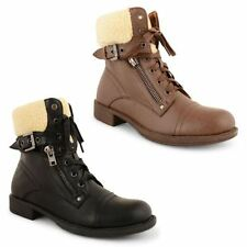 Dolcis Lace Up Casual Low Heel (0.5-1.5 in.) Boots for Women