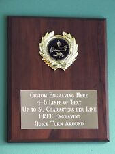 Appreciation Award Plaque 8x10 Trophy FREE custom engraving