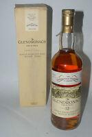 WHISKY GLENDRONACH ORIGINAL 12 YEARS OLD SINGLE HIGHLAND MALT 75cl. IN BOX 1990