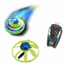 #1161 Induction UFO High Tech handgesteuertes RC Flugobjekt mit LED-Lampe Blau