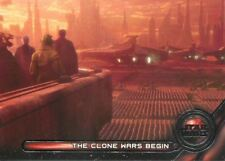 Star Wars Galactic Files Reborn Galactic Moments Chase Card GM-9 The Clone Wars