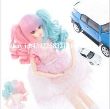 New  Cute Fashion Spell color double tail For 1/3 BJD LUTS PULLIP SD Doll Wig