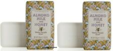 Lot of 2 New Crabtree & Evelyn Almond Milk and Honey Triple Milled Soap 5.57 oz