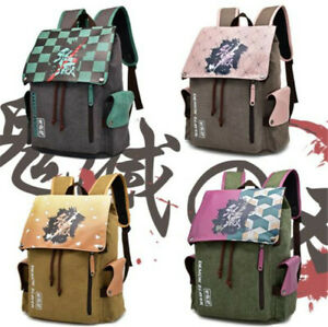 Anime Demon Slayer School Bag Backpack Package Cosplay Props Accessories Gifts