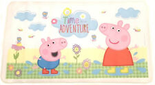 Peppa Pig Bath Mat with Non Slip Suction Cups Time For An Adventure