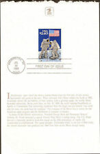 #2419 First Day Card $2.40 Moon Landing Stamp