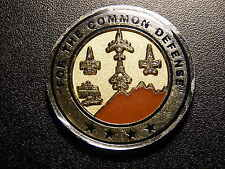 FOR THE COMMON DEFENSE PRESENTED BY THE COMMANDER CHALLENGE COIN!  OO111DHS1