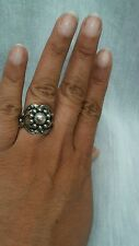 Georg Jensen  sterling 925 no.10 moonlight blossom ball  ring size 6.5