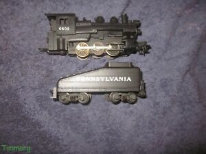 Lionel 0602 HO Scale 0-6-0 Pennsylvania Steam Switcher Loco & Tender