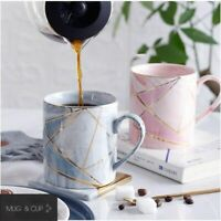 Marble Porcelain Coffee Mug Cup Tea Milk Ceramic Cups Drinkingware Tableware New
