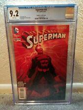 SUPERMAN #33 1:100 CGC 9.2 ROMITA JANSON VARIANT ED ULYSSES DC COMICS NEW 52
