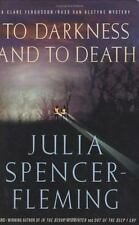 Julia Spencer-Fleming - To Darkness and Death - NEW 1st edition