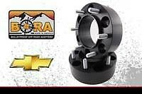 "GMC Sierra 1500 2.50"" Wheel Spacers (2) by BORA Off Road - Made the In USA"