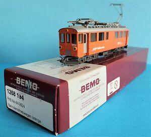 Bemo H0m # 1268 194 RhB Bahndiensttriebwagen - Orange