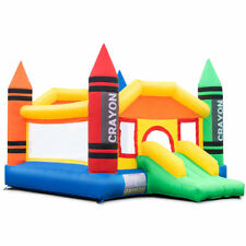 Large Inflatable Crayon Bounce Bouncy House Castle Jump Room without Air Blower