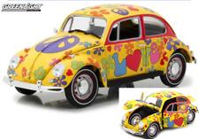 Maggiolino VOLKSWAGEN  VW Love Bug 1:18  Greenlight Hippie Modellino 1967 🤩🤩