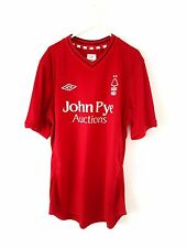 Nottingham Forest Home Shirt 2012. Large. Umbro. Red Adults L Football Top Only.