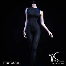 VSTOYS 19XG38A 1/6th Vicky Serect Sleeveless Conjoined Tights Leotard Black