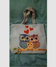 Singapore Tote Bag (Family Owl)