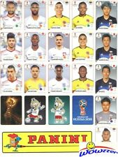 2018 Panini World Cup Stickers Complete 92 Sticker Limited Edition UPDATE SET !!
