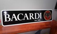 "BACARDI Aluminum Sign Collectible  6"" x 24"""