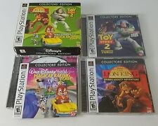 Disney's Collector's Edition Toy Story 2 Lion King Magical Racing PS1 - Issues