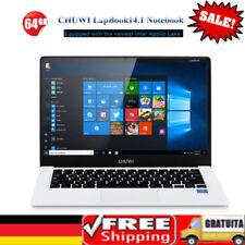 "CHUWI LapBook14.1 PC Laptop 14.1"" HD IPS Win10 Quad Core Intel 4+64GB Dual WIFI"