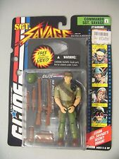 NEW MOC GI JOE Sgt. Savage Commando Sergeant Savage w/VHS
