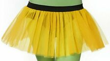 Yellow tutu skirt fun dance fancy costume Bumble bee queen Birth day Party USA