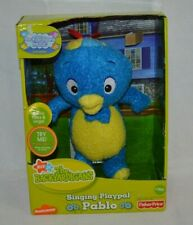 NEW Fisher Price 2006 Backyardigans Singing Playpal Pablo Blue Penguin RARE!!!!!