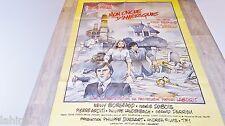 MON ONCLE D'AMERIQUE  !   affiche cinema animation bilal