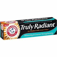 Arm & Hammer Truly Radiant Whitening Enamel toothpaste, Fresh Mint 4.3 oz