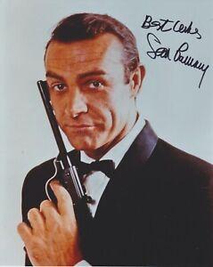 Sean Connery HAND Signed 8x10 Photo, Autograph, James Bond, Goldfinger, 007 (C)
