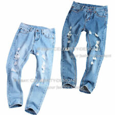 Denim Solid Low Rise Jeans for Women