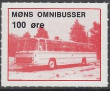Denmark Mons Omnibusser unused 100o Local Bus Parcel stamp