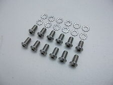 NEW STAINLESS PETROL FUEL TANK MOUNTING BOLTS SCREWS SUITS EJ EH HOLDEN