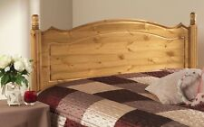 SOLID ANTIQUE PINE BOSTON HEADBOARD TO FIT A DIVAN BED CAN MATCH  ANY FURNITURE