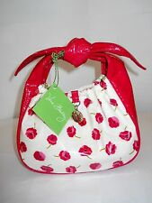 Vera Bradley - Make Me Blush - Tippy Tie Small Purse Floral Knoted Handle New !!