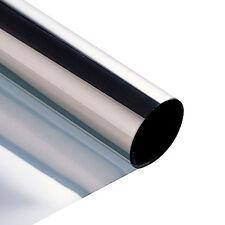 New 300cm x 50cm Film Tint Solar Silver Mirror Effect for Car Window Building