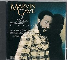 CD COMPIL 21 TITRES--MARVIN GAYE--A MUSICAL TESTAMENT 1964 / 1984