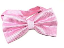 UK Solid Colour Adjustable Formal Pre-Tied Bow Ties For Mens Neck Bowtie New