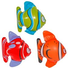 Opblaasbare Visjes /3 - Inflatable Party 3 Fishes Animals Mega Selection Deco