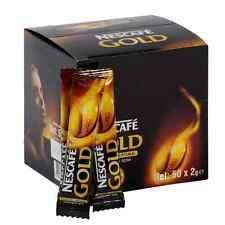 50 On-The-Go packets Nescafe GOLD DARK ROAST Instant coffee NO SUGAR